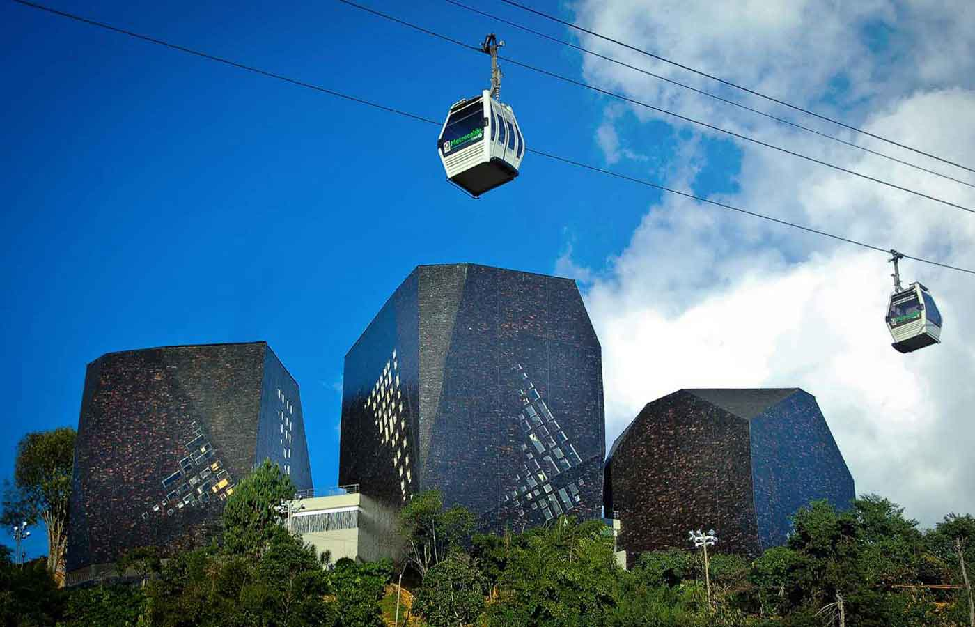 Medellin Cable Car, Colombia