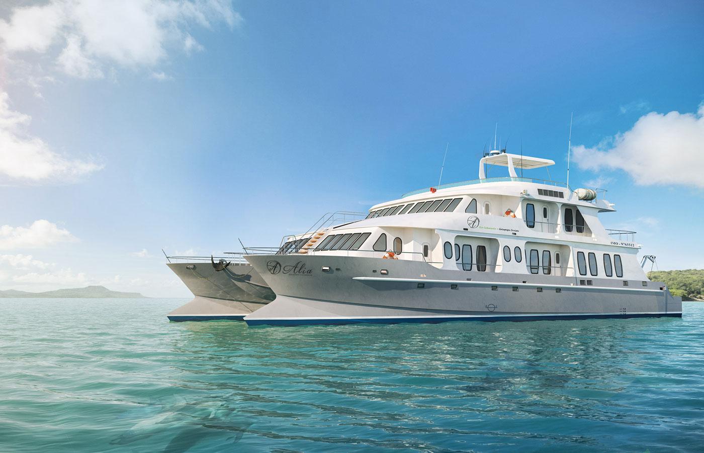 Alya Luxury Catamaran, the Galapagos Islands