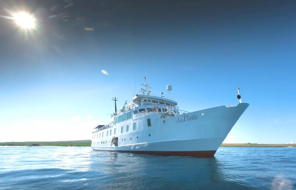 La Pinta - luxury mid-sized yacht in the Galapagos Islands