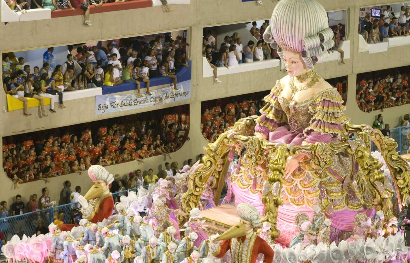 Rio Carnival Sambadrome parade