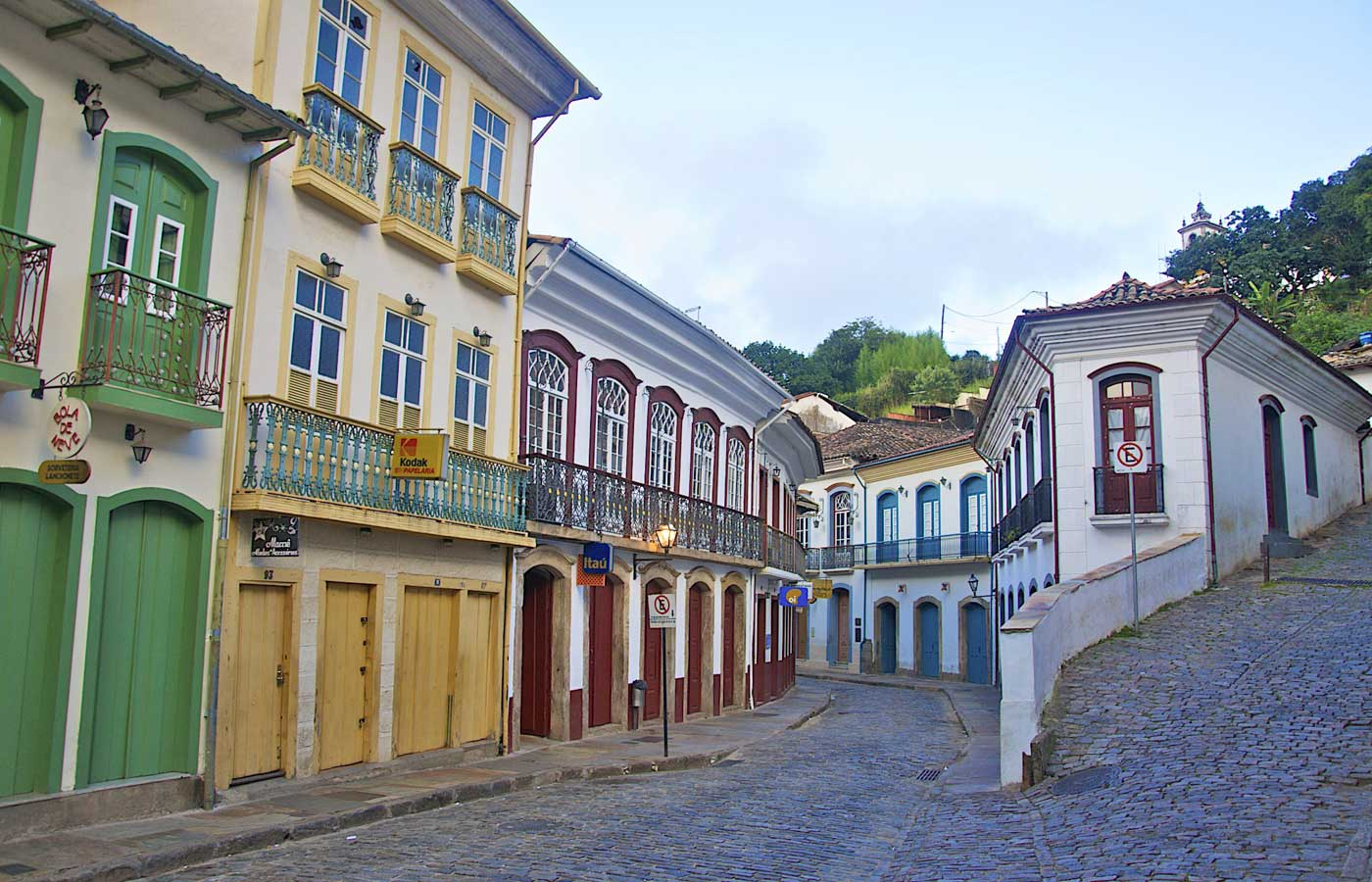 Ouro Preto - Colonial towns in Minas Gerais, Brazil