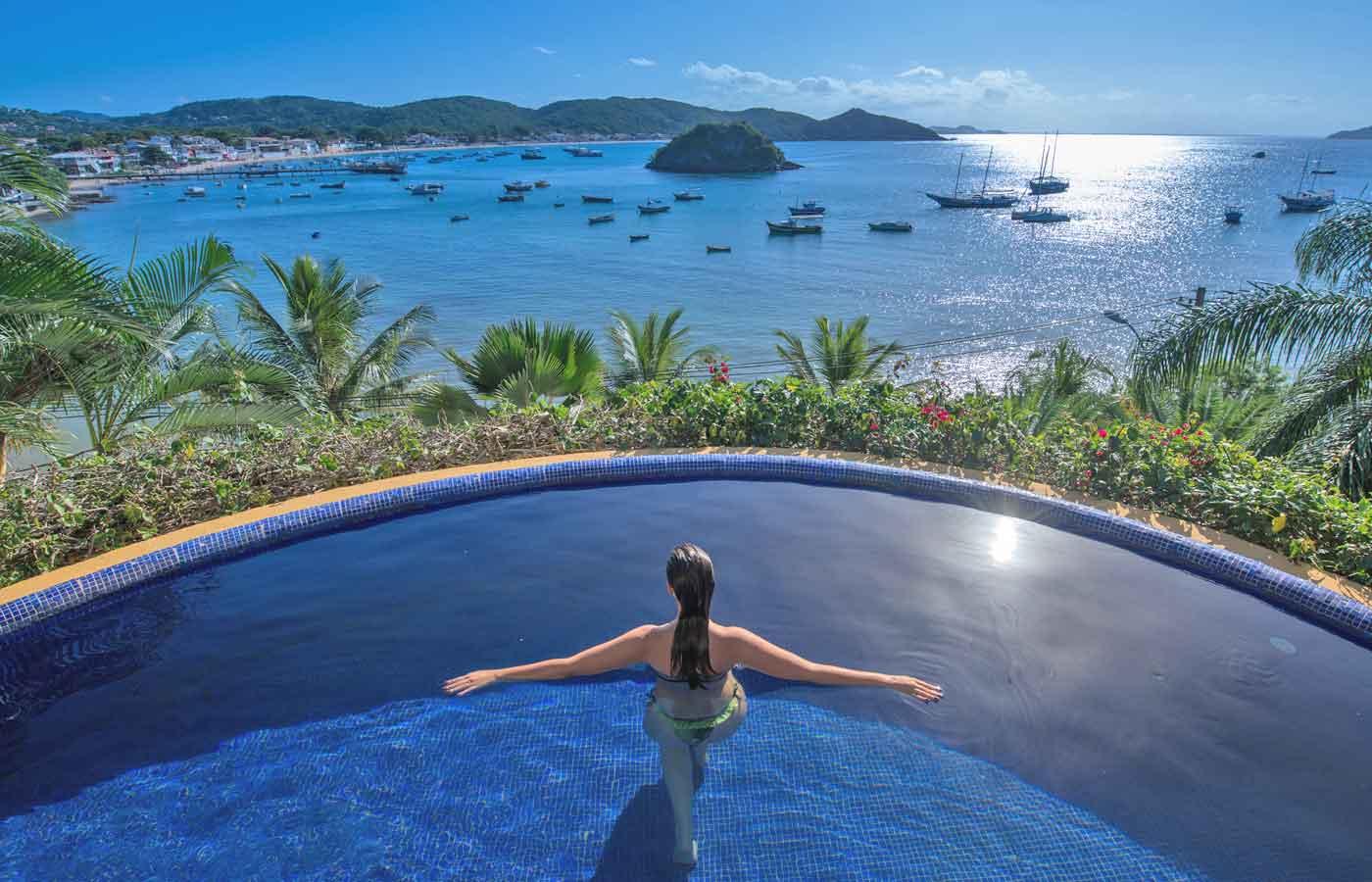Hotel Vila d'Este - Luxury hotel in Buzios, Brazil
