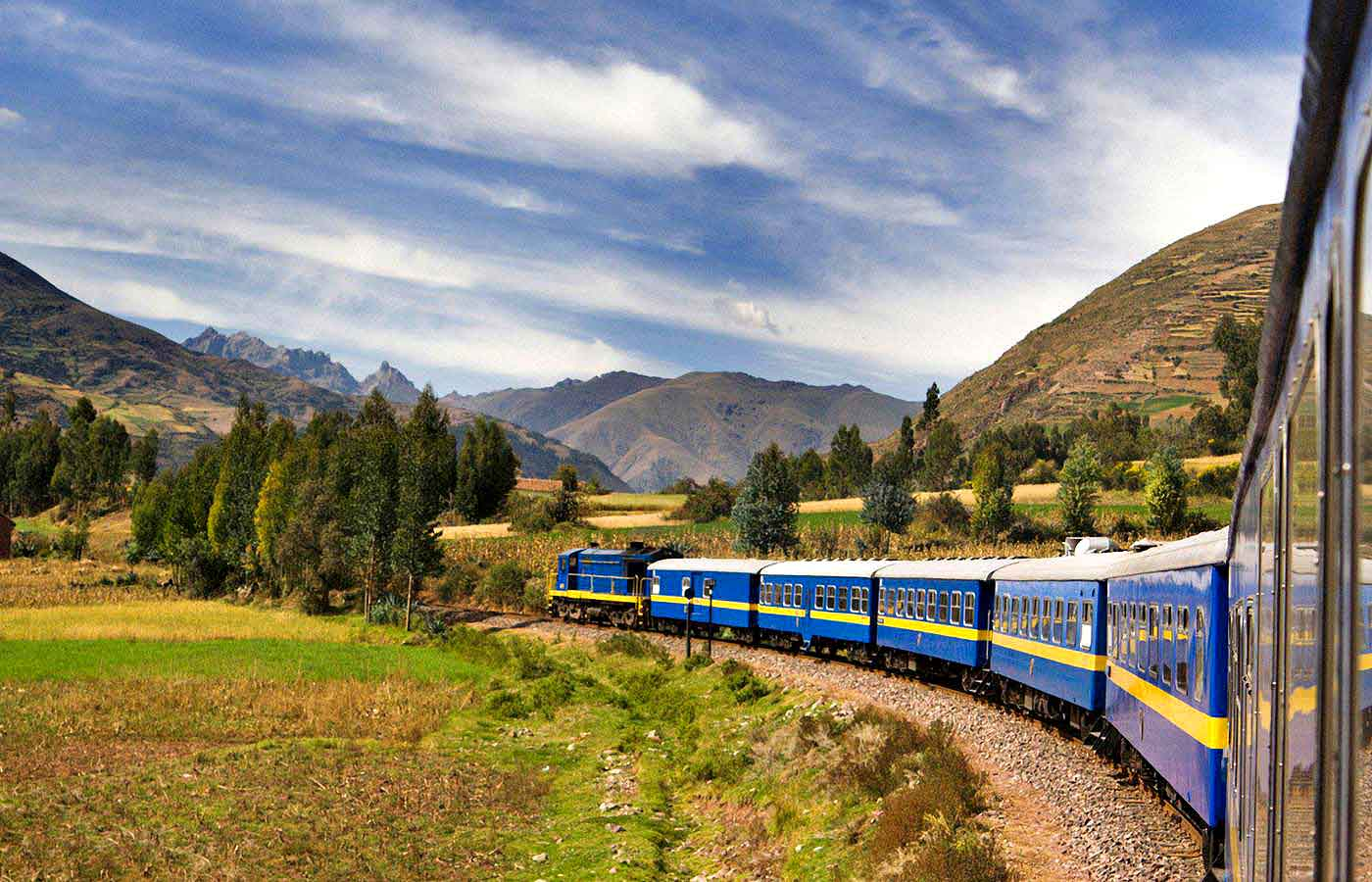 Take the train to Machu Picchu on a luxury holiday to Peru