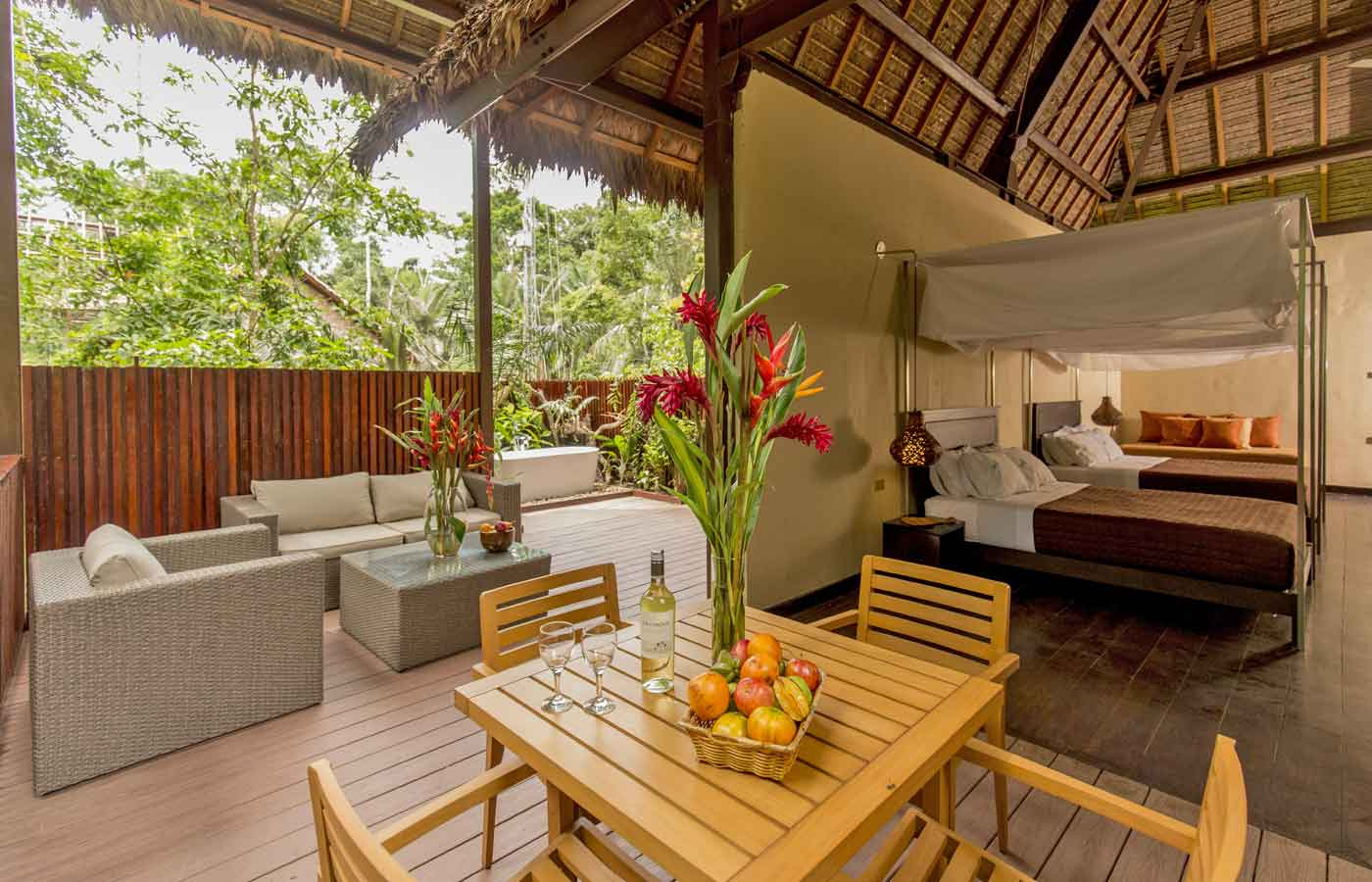 Luxury holidays to the Peruvian Amazon