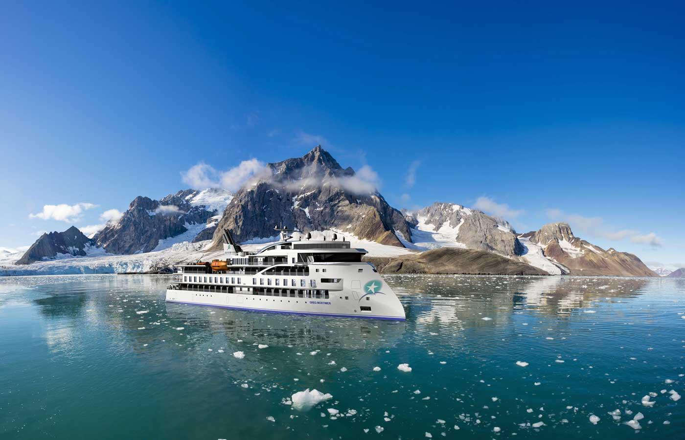 Greg Mortimer, Luxury Antarctica cruise