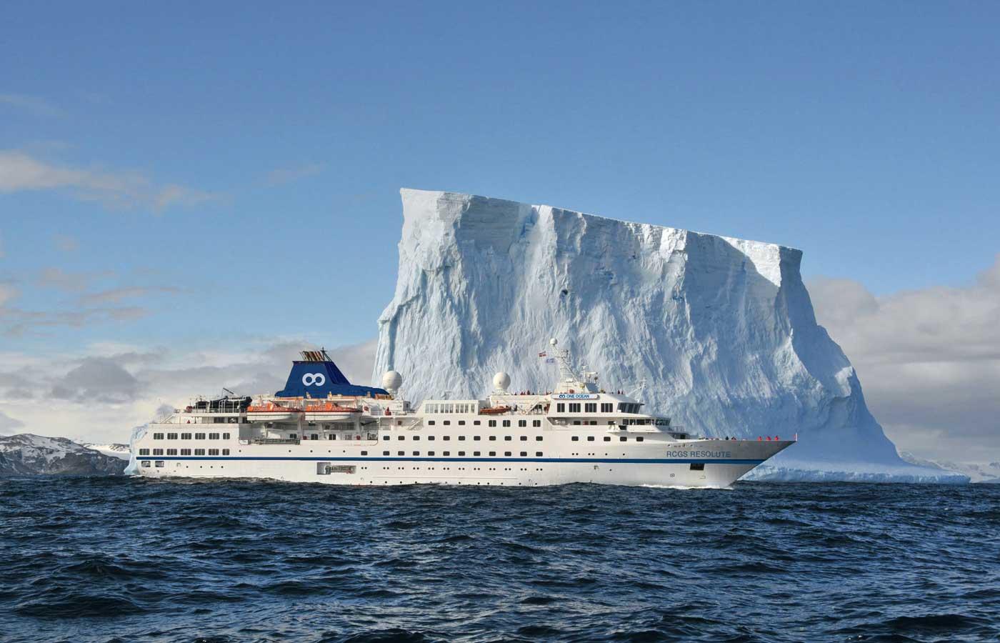 RCGS Resolute Vessel, Holidays to Antarctica