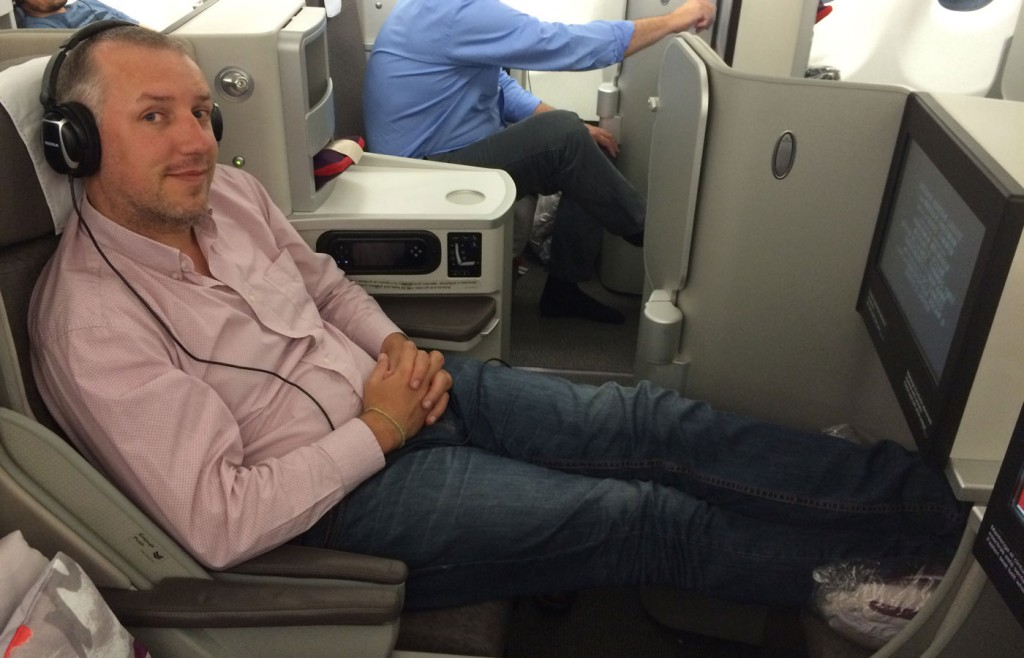 Flying Iberia Business Class