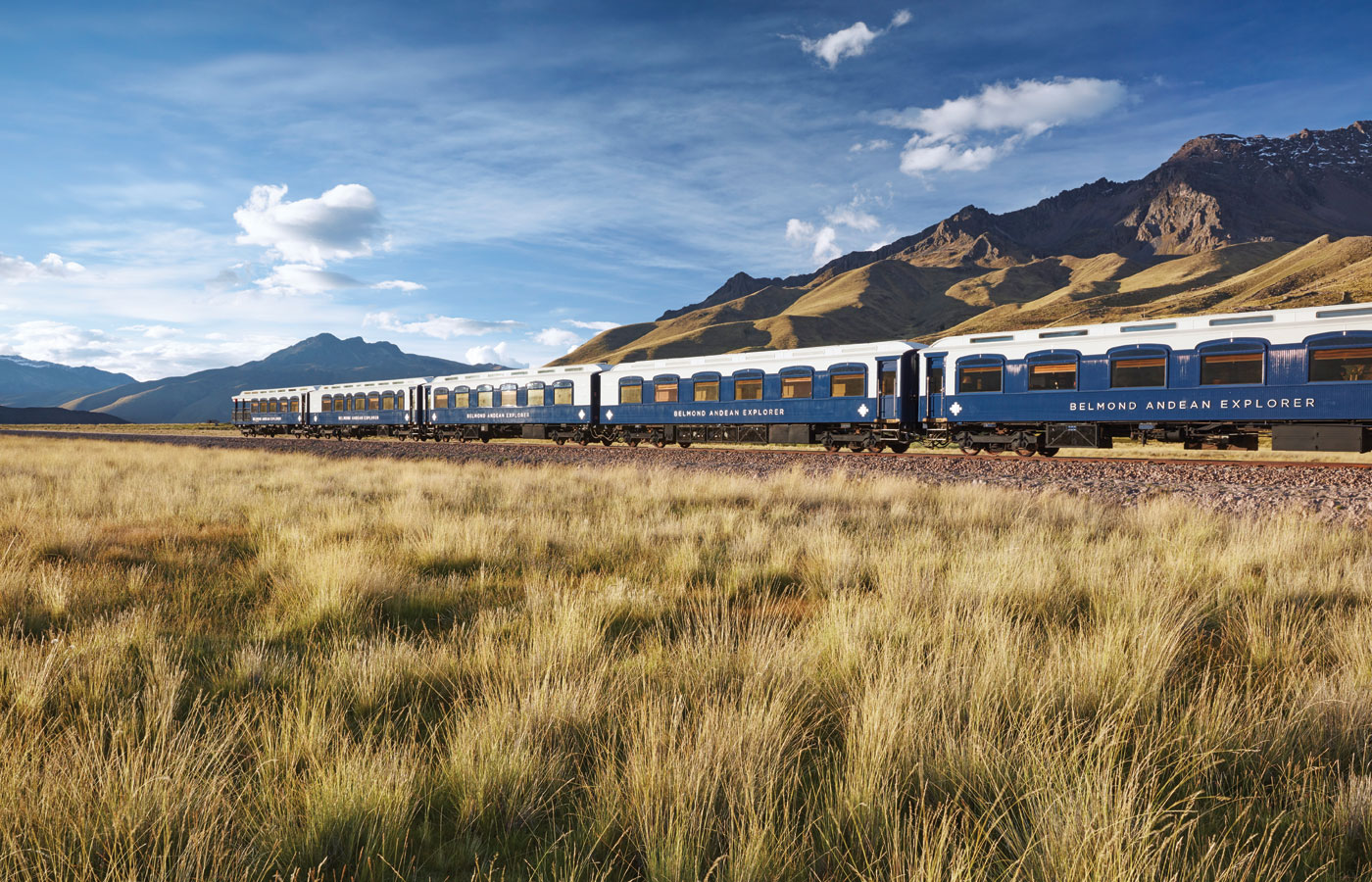 Belmond Andean Explorer luxury train, Peru