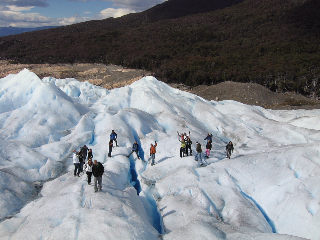 Trekking on the Perito Moreno glacier, El Calafate