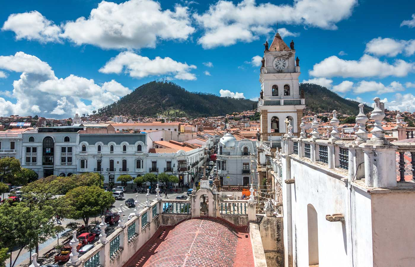 Luxury holidays to Sucre Bolivia