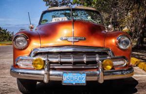 Cuban Varadero car