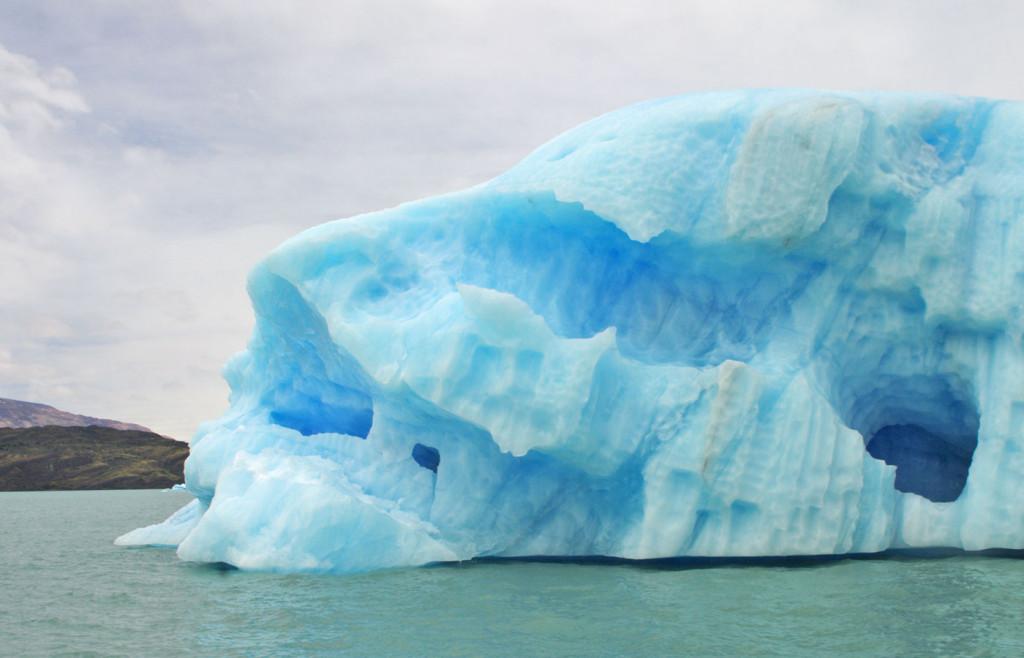 Glacier-in-the-sea nearby Estancia Cristina, Patagonia, Argentina