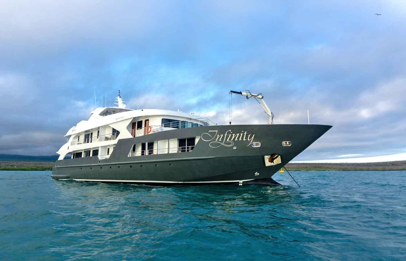 Infinity Luxury Yacht, Galapagos Islands