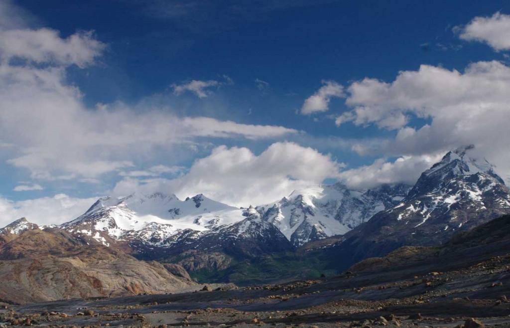Mountains nearby Estancia Cristina, Patagonia, Argentina
