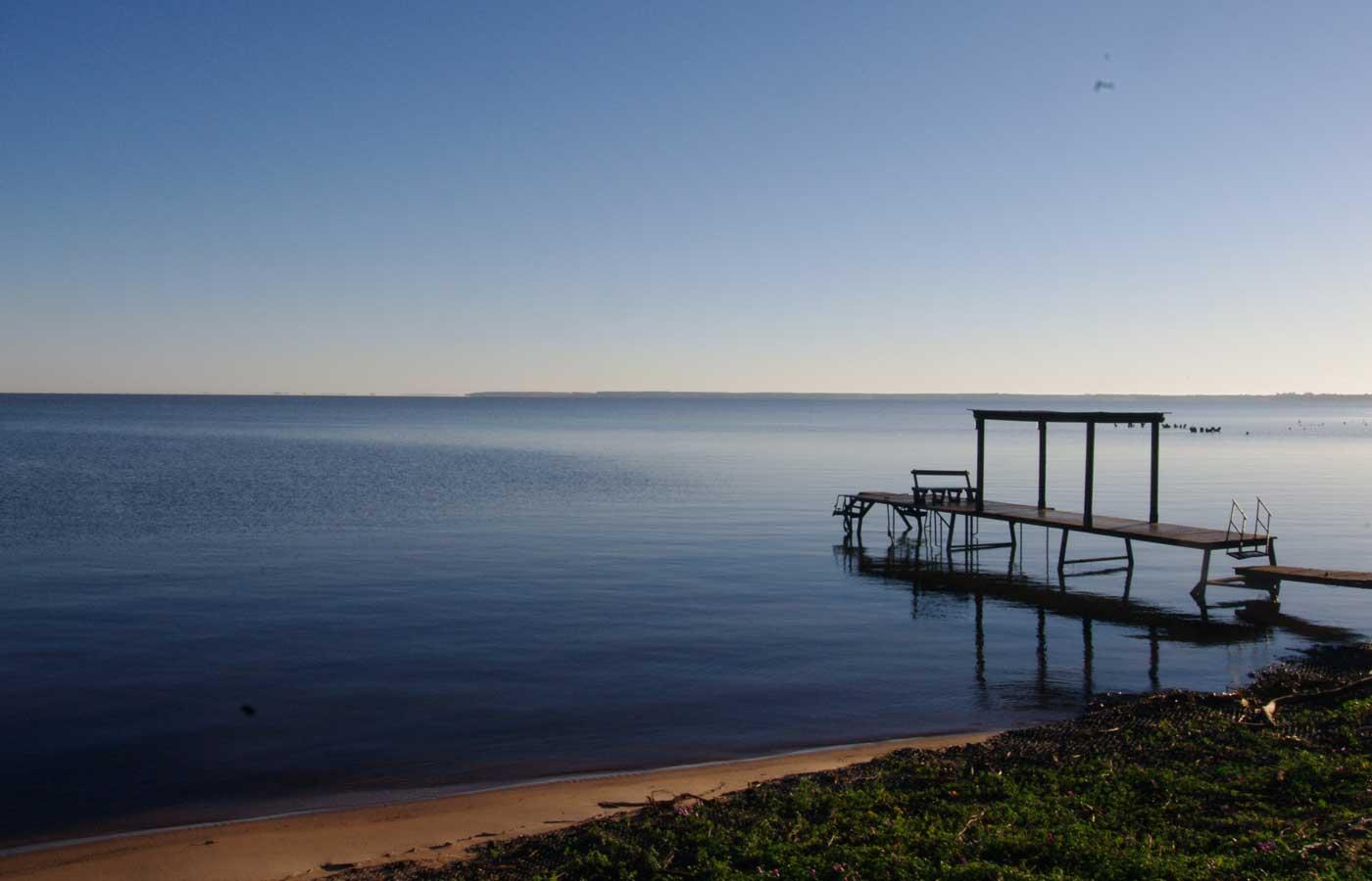 Waterbay nearby Ibera Wetlands ,Puerto Valle in Argentina