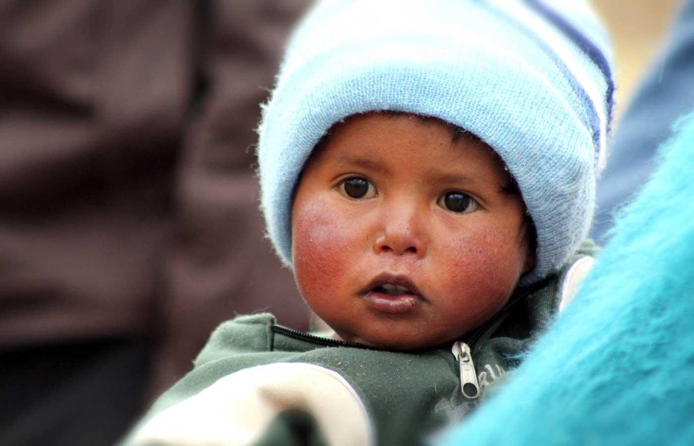 Bolivia's child