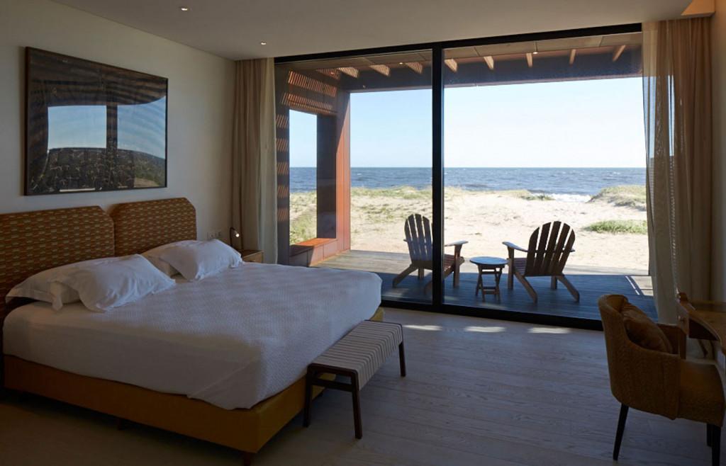 A modern suite in the luxury Bahia Vik property, Jose Ignacio, Uruguay