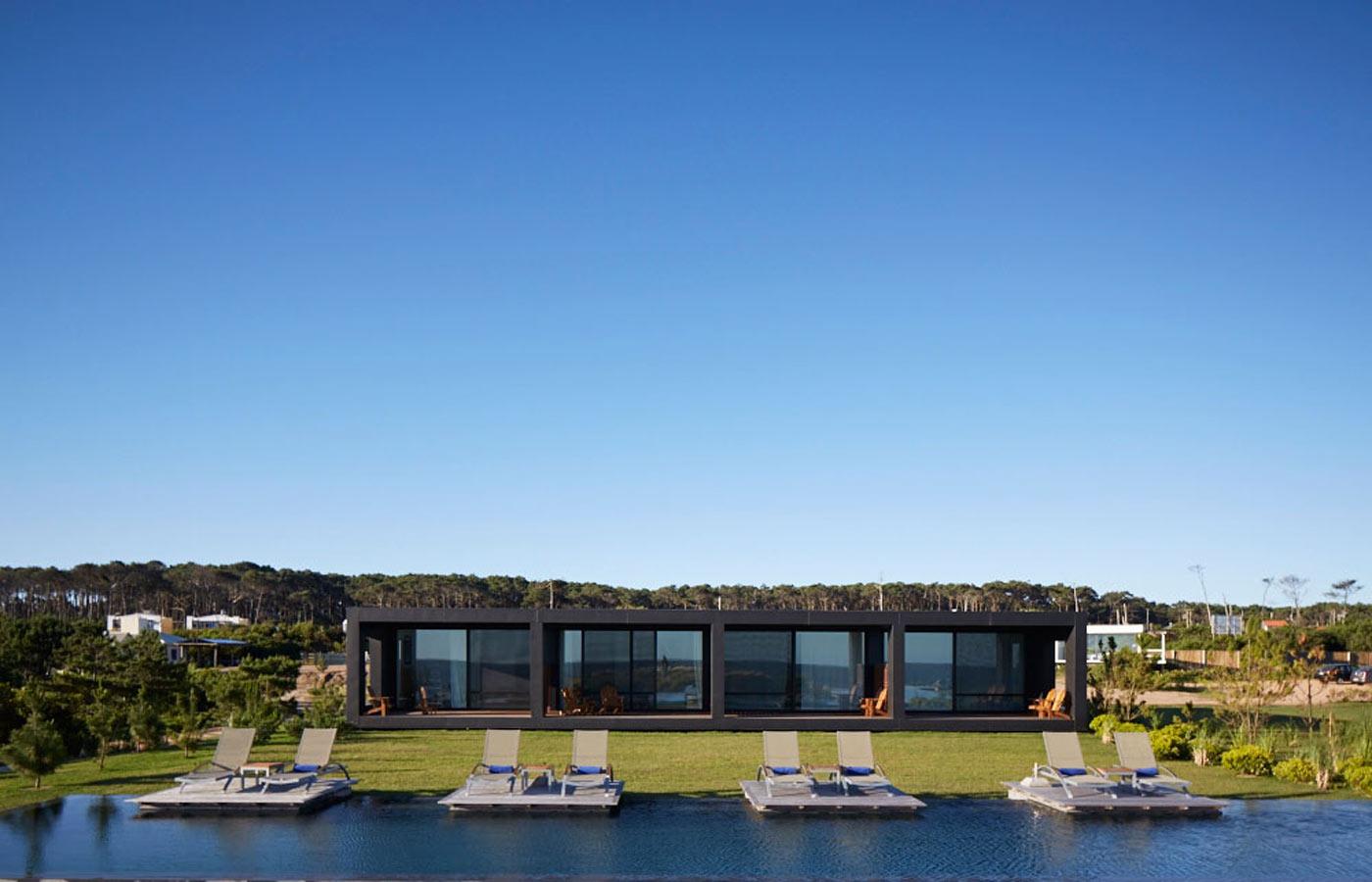 The sleek Bahia Vik property in Jose Ignacio, Uruguay