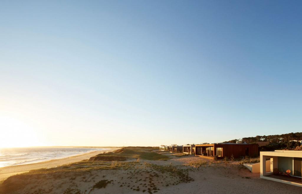 The luxury bungalows of Bahia Vik in Uruguay