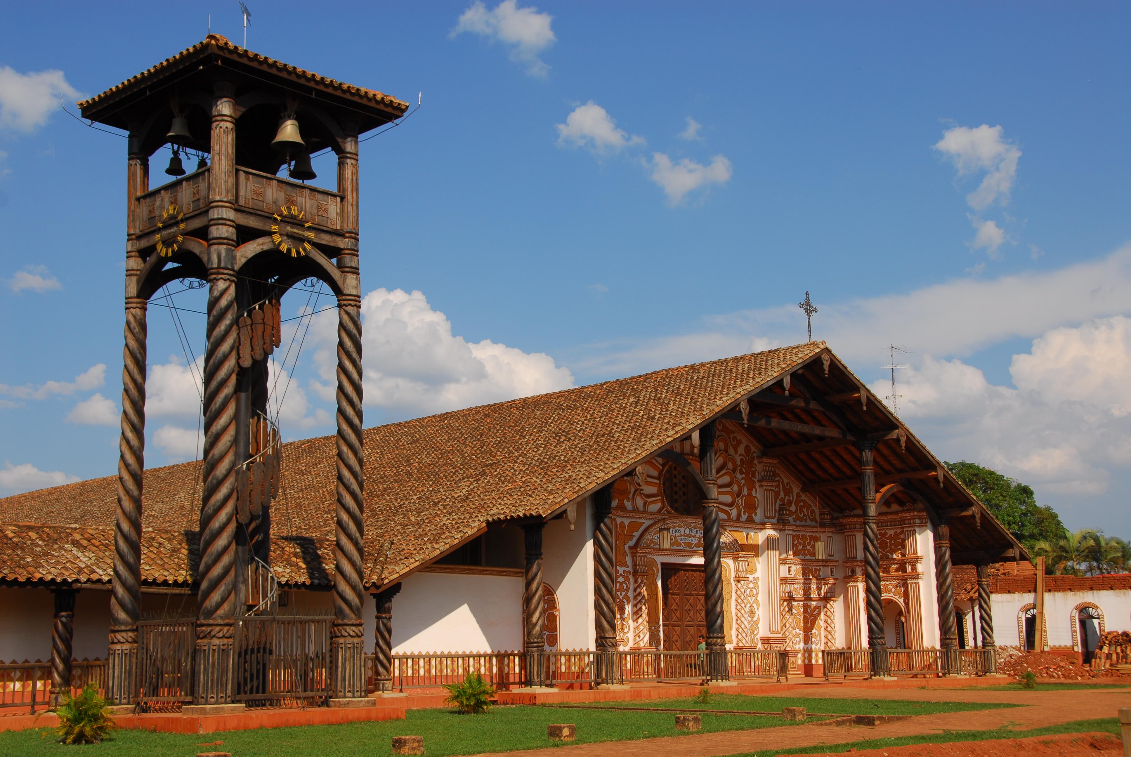 Concepcion Church, Chiquitos, Bolivia