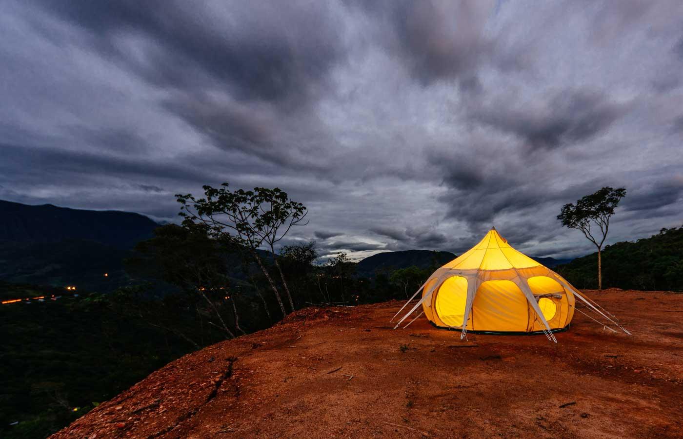 Glamping in Bolivia