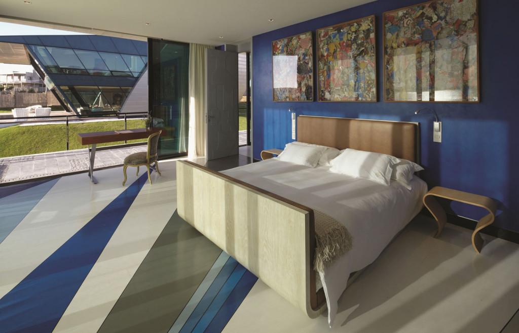 A luxury suite at Playa Vik, Uruguay