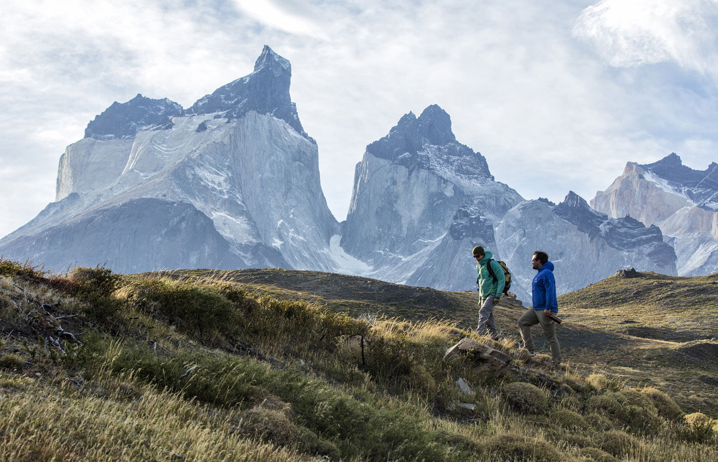 Trekking in Torres del Paine National Park, Chile