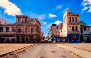 Old Havana, a colourful plaza in the city