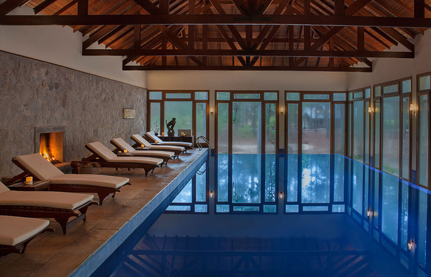 The gorgeous pool at the Hyatt Carmelo Resort & Spa in Uruguay