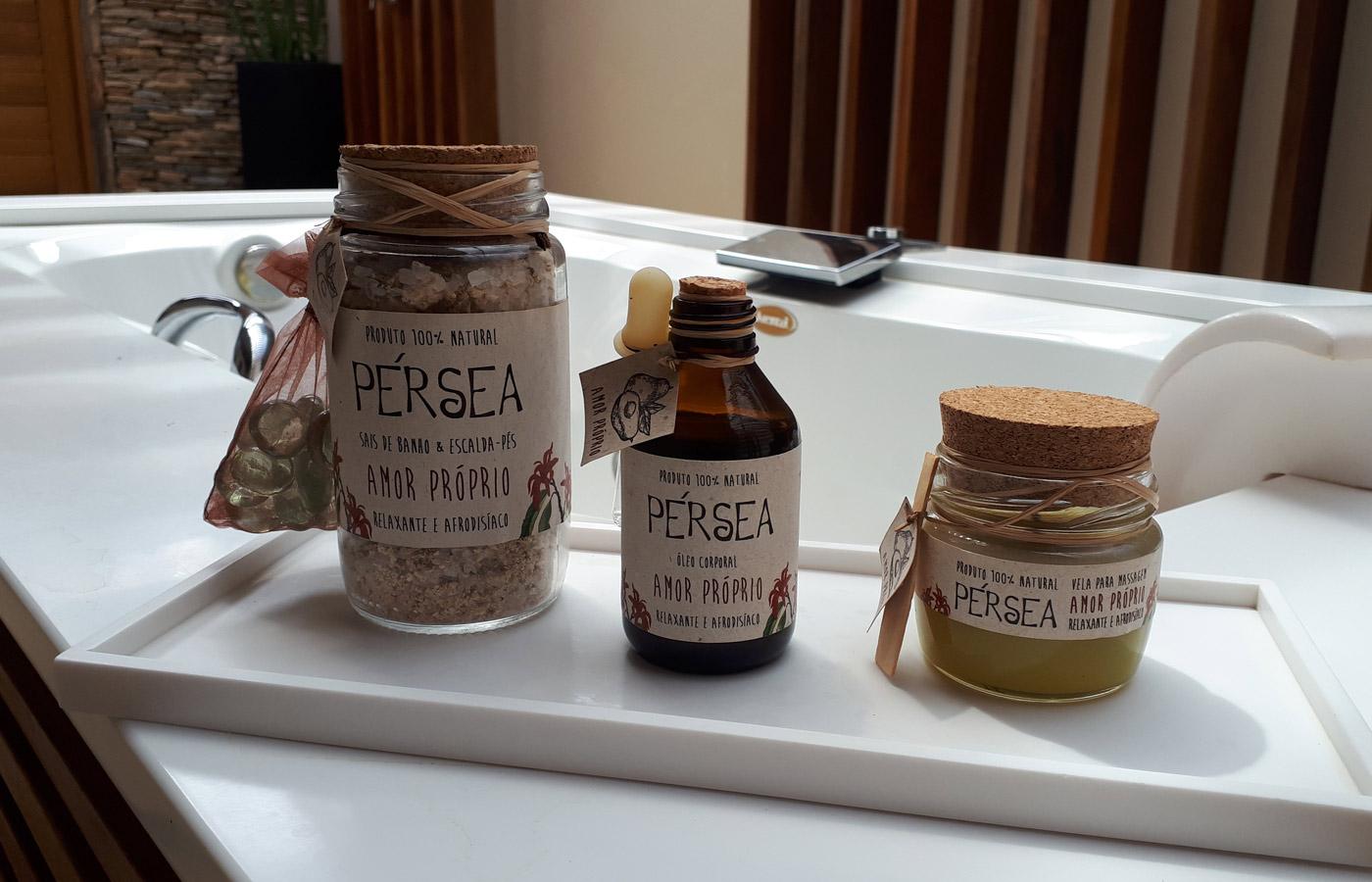 Organic amenities at Hotel Casana,luxury hotel in Prea, Brazil