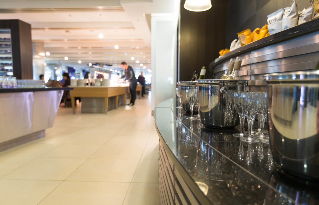 The Business Class South Galleries lounge at Heathrow Terminal 5