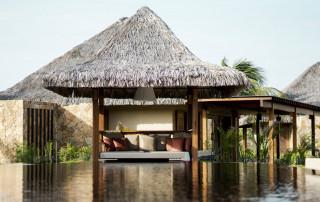 Exterior view of Hotel Casana,  luxury hotel in Prea Brazil