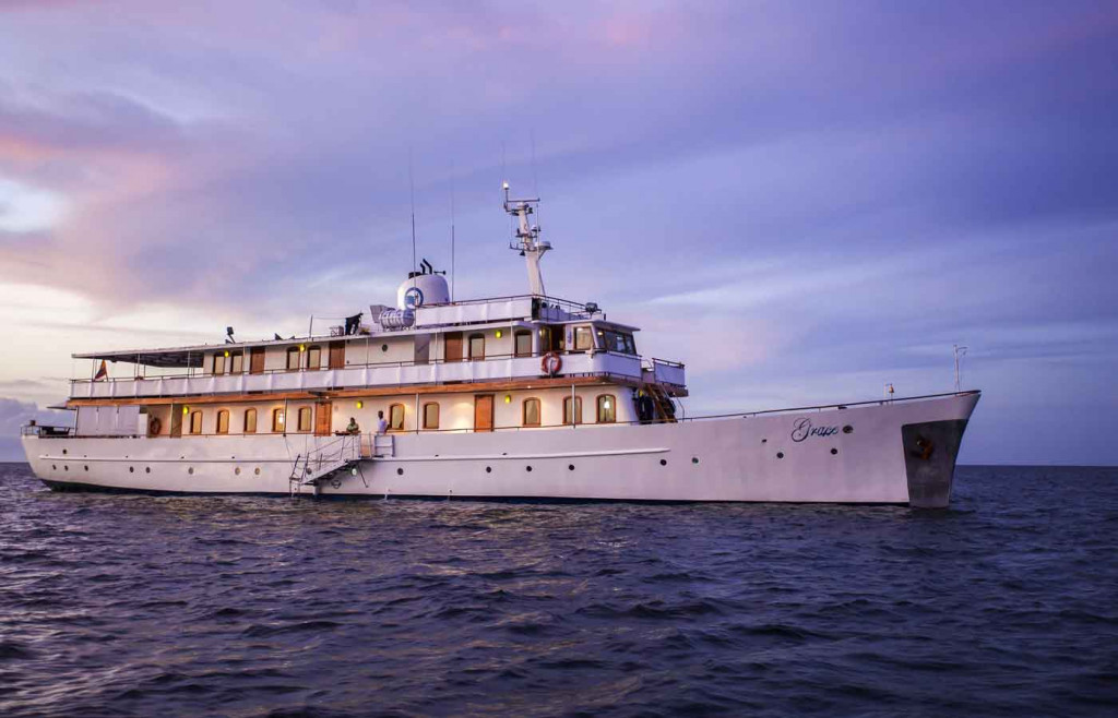 M/Y Grace - Luxury Galapagos Yacht