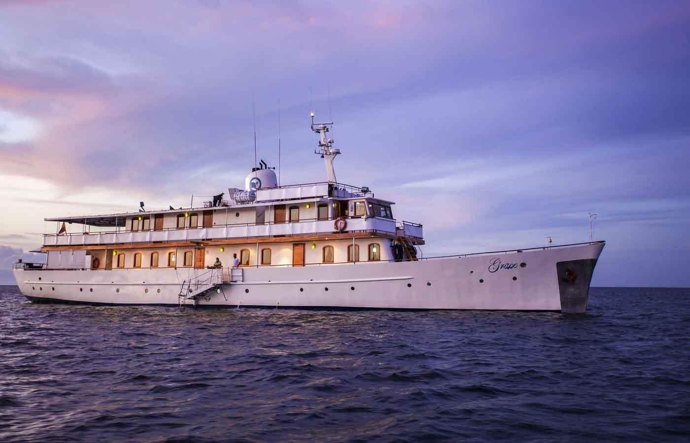 M/Y Grace - Luxury Galapagos Yacht