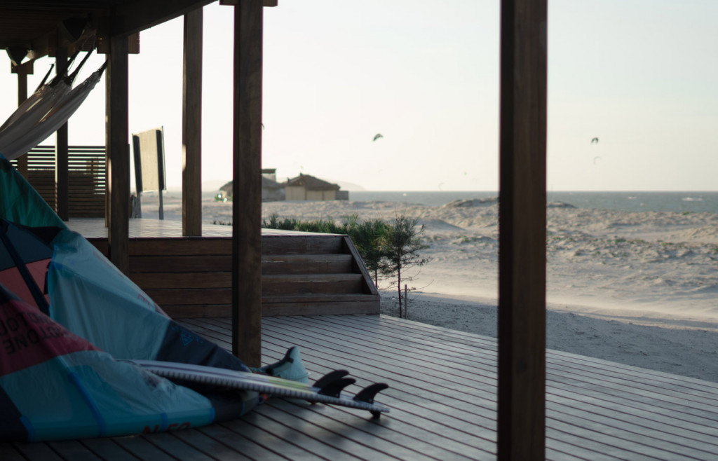 The Kite Lounge at Casana - Kitesurfing is a main attraction in the region