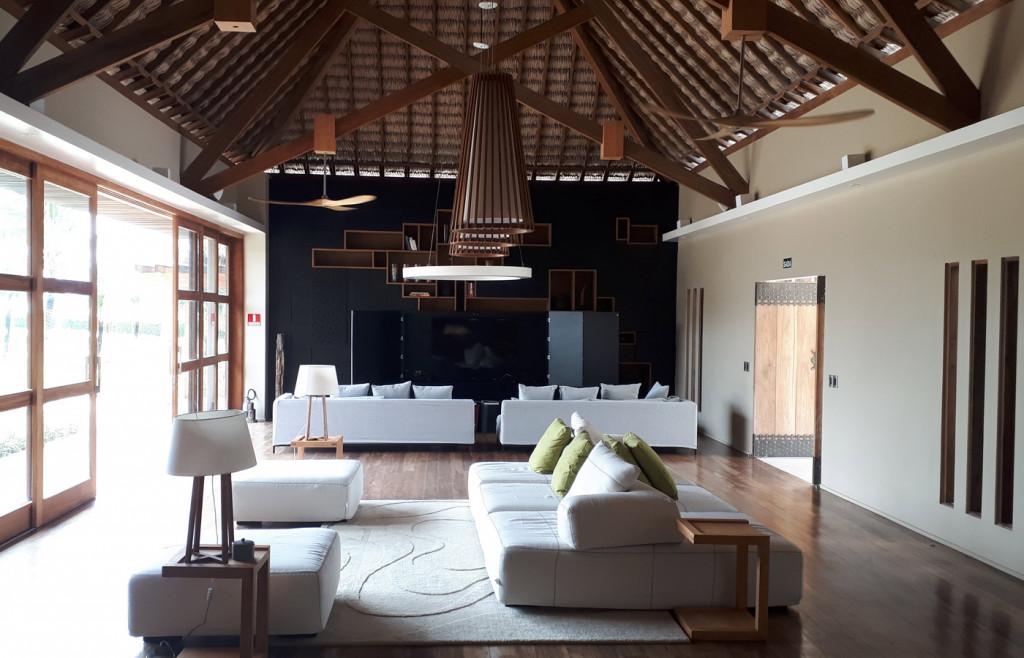 Lounge area at Hotel Casana, luxury hotel in Preá Brazil