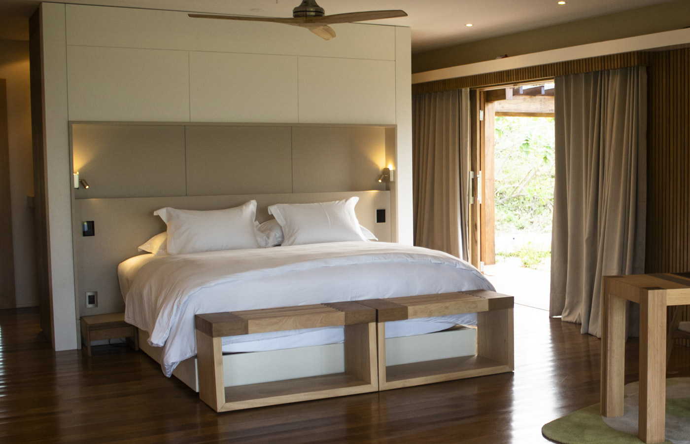 Rooms at Hotel Casana are luxurious and modern