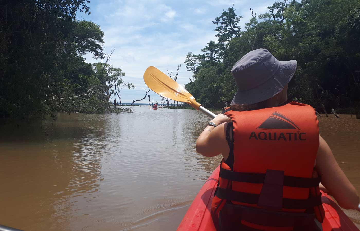 Kayaking in the Ibera Wetlands, Argentina