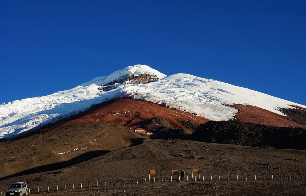 A volcano in the Avenue of Volcanoes, Ecuador