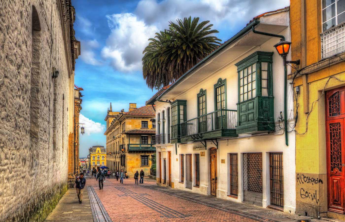La Candelaria, Bogota - old colonial city