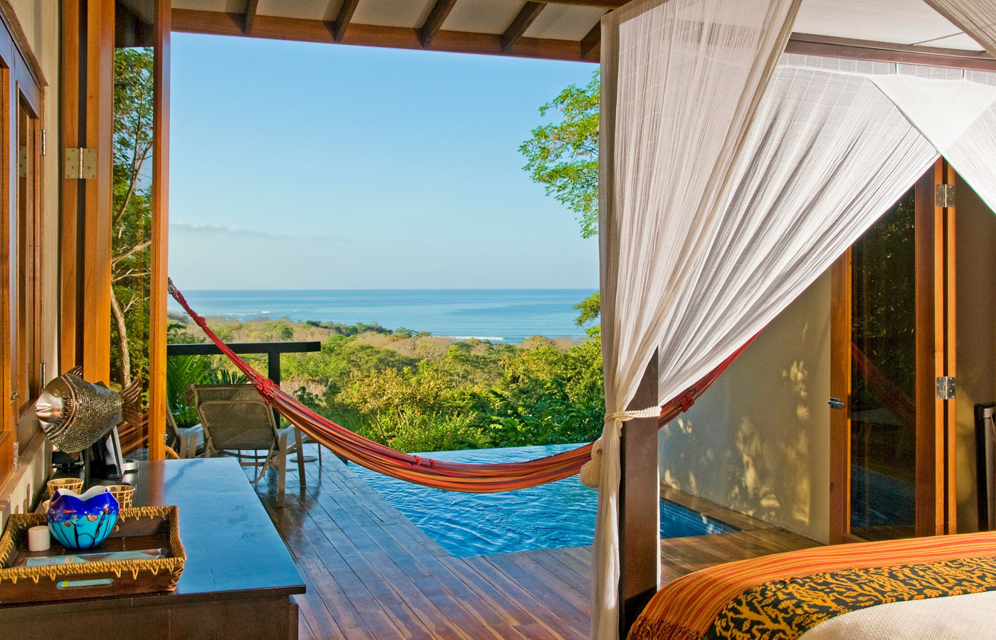 An ocean view from Casa Chameleon