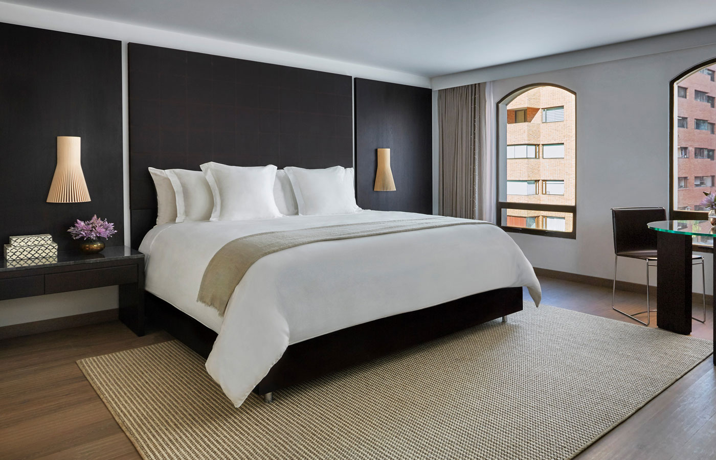 A spacious room at the Four Seasons Bogota