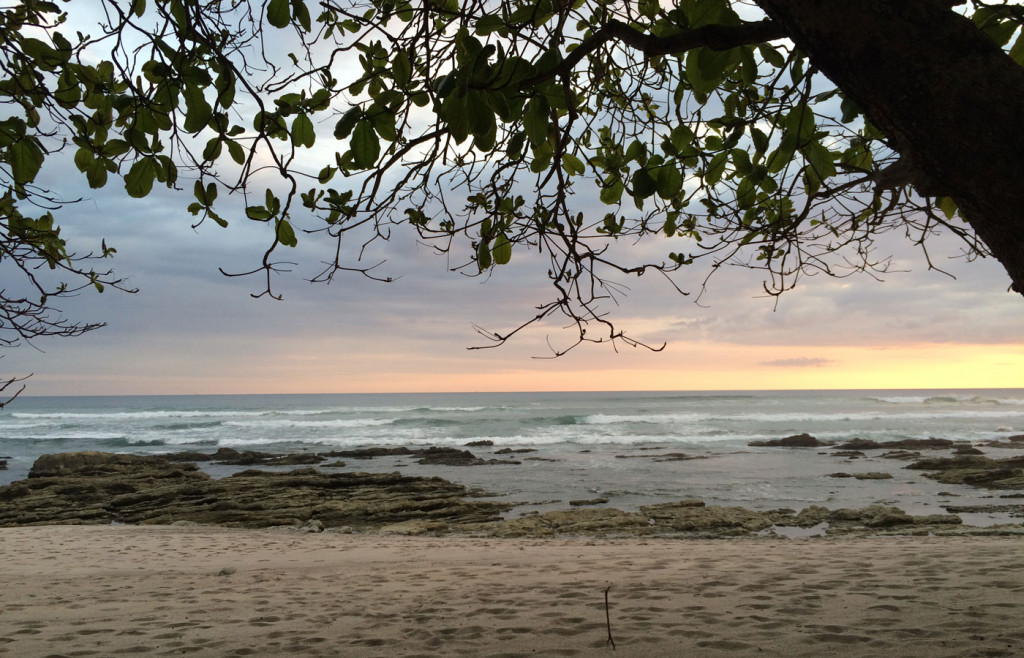 A beautiful Pacific Sunset on the Nicoya Peninsula