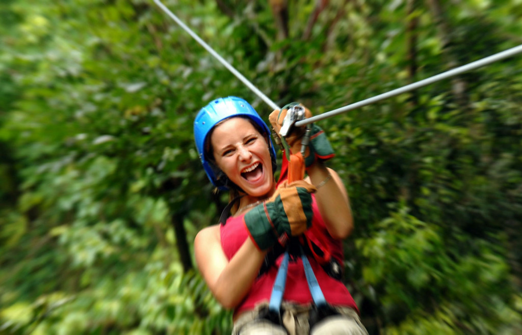 Ziplining on the Nicoya Peninsula