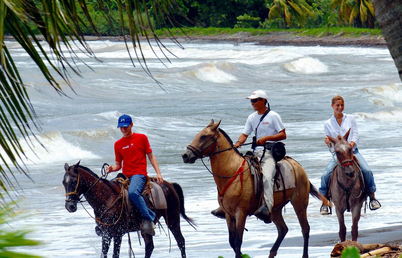 Back horseriding at Punta Islita, Nicoya, Costa Rica