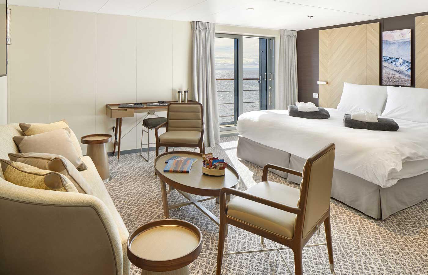 Penthouse Suite, Magellan Explorer