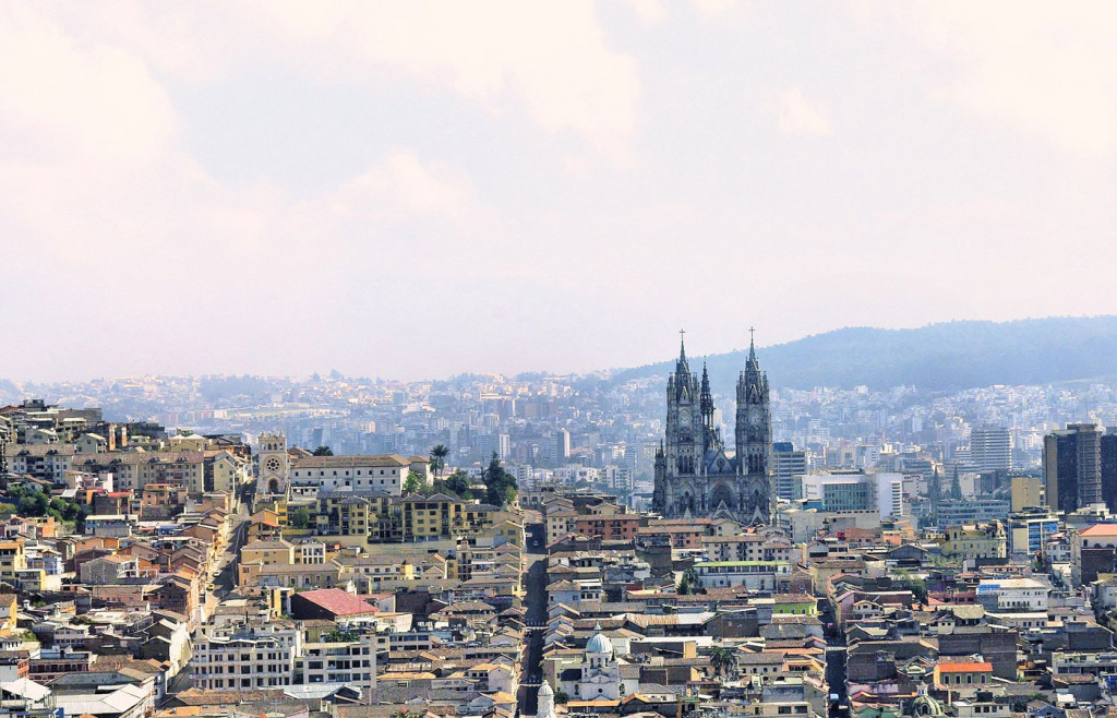 Quito is the capital of Ecuador and famous for colonial architecture