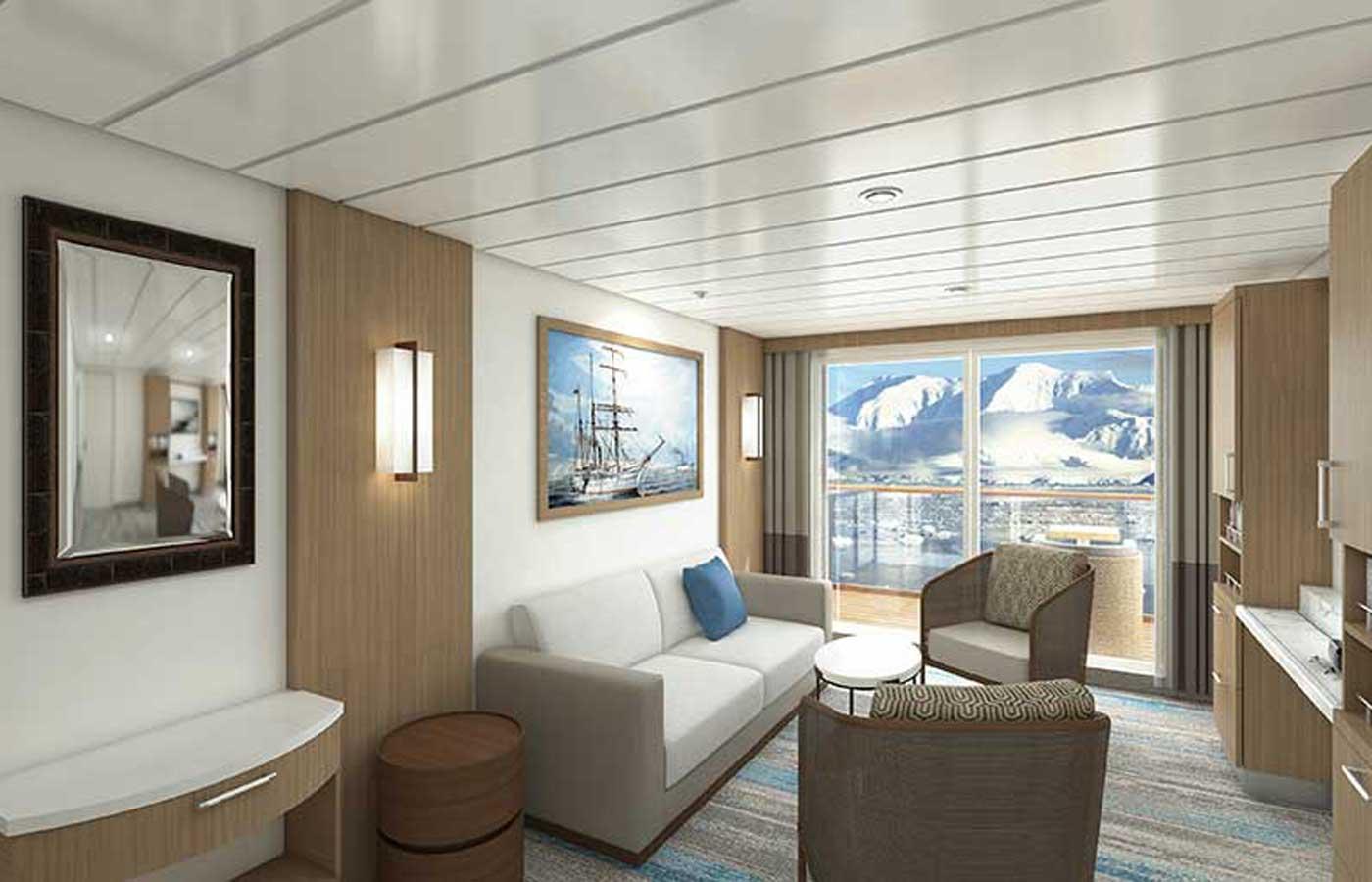 Owner's, Suite at  Greg Mortimer Ship