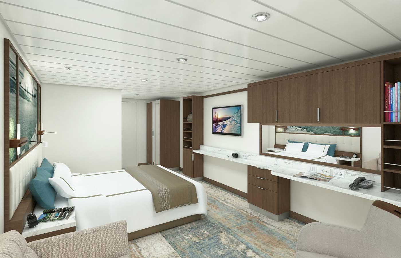 Porthole Suite, Greg Mortimer -Antarctica Cruise