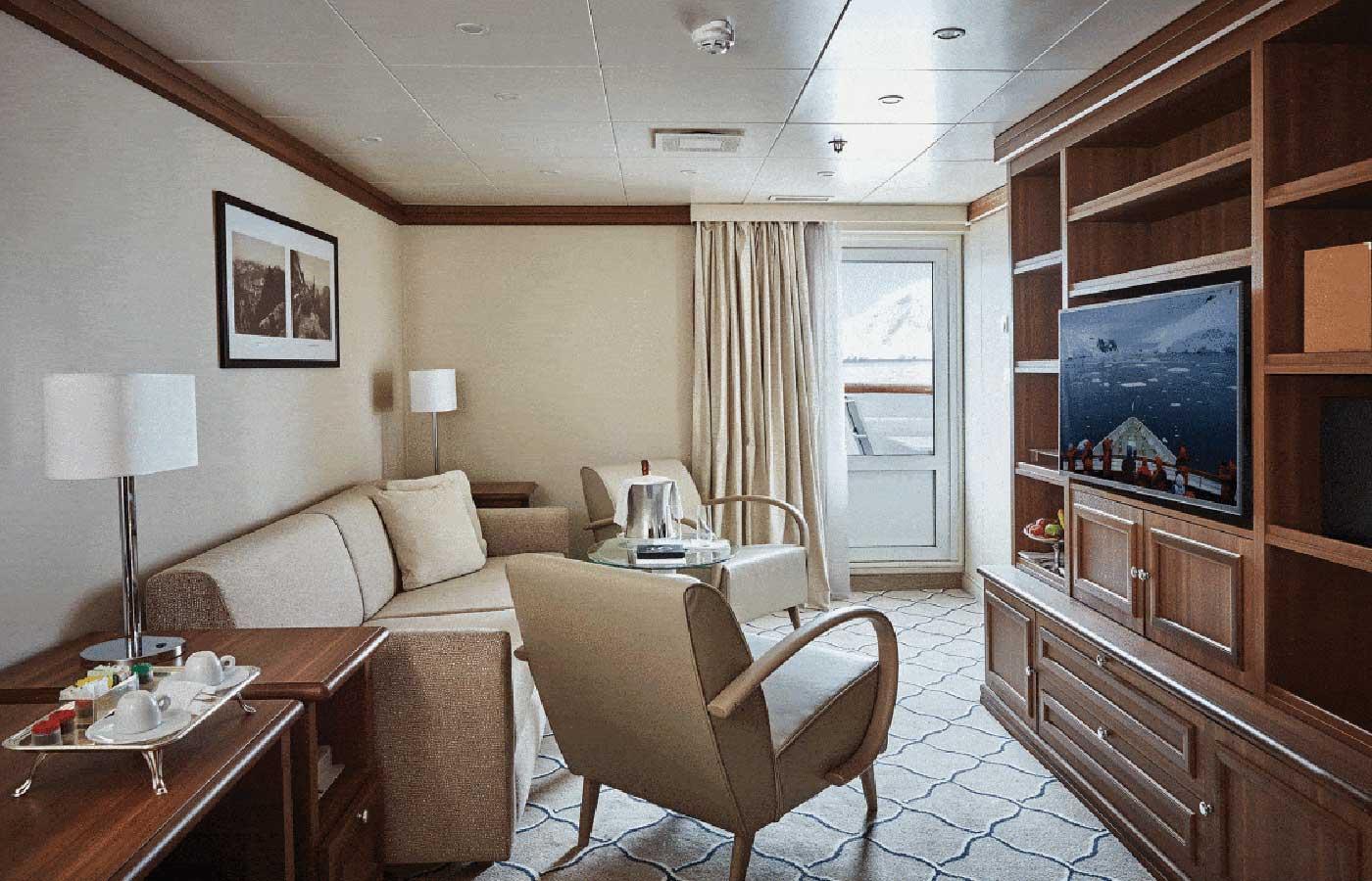 Grand Suite, Silver Explorer -Antarctica Cruise